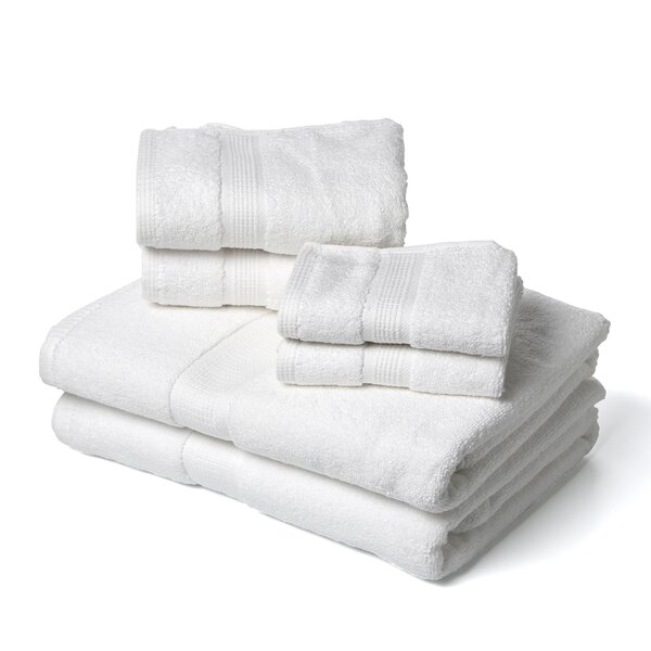 Bloomberg Supima 6 Piece 100% Cotton Towel Set by Darby Home Co
